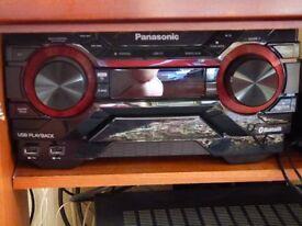 Panasonic SC-AKX200 Bluetooth 400w cd player hifi