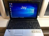 Packard Bell HD 4GB Ram Fast Laptop Massive 500GB,Window10,Microsoft office,Ready to use