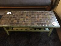 Tiled coffee table
