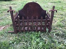 Cast Iron Fire Basket