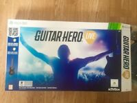 Guitar hero Live xbox 360 game + controller (complete)