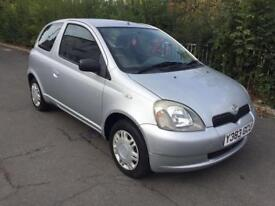 *74,000* LOW MILEAGE TOYOTA YARIS 1.0 GS MANUAL 3 DOOR