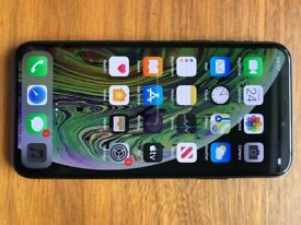 iPhone XS 64GB Unlocked Space Grey Used for 1 month (as brand new)
