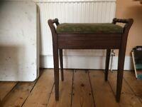 Antique/vintage piano stool