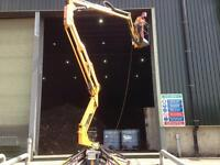 NARROW ACCESS CHERRY PICKER HIRE WITH OPERATOR DOING ANY WORK AT HEIGHT.MEMBER OF IPAF.