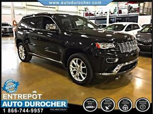 2014 Jeep Grand Cherokee Summit CUIR UCONNECT SUSPENSION HYDROLI