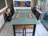 Free dining table and 3/4 chairs
