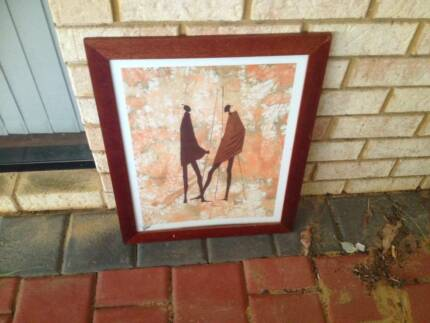 African Art in Frame Banksia Grove Wanneroo Area Preview