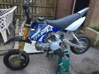 Ali frame thumpstar pit bike pitbike spares too