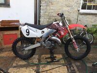 cr125 motocross bike not rm kx ktm tm