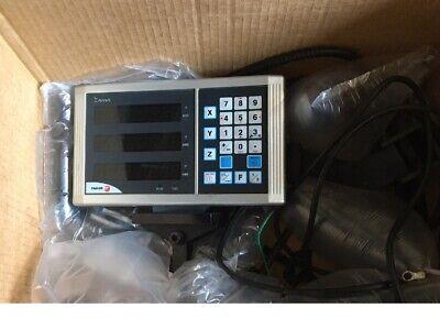 Fagor Model 30im 3 Axis Dro Display Innova Digital Readout Tested Inch Metric