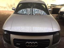 Audi TT MK1 silver bonnet LY7W vgc 2000 2004 225 Quattro