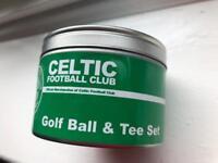 CELTIC FC GOLF BALL GOLF TEE SET FOOTBALL CLUB
