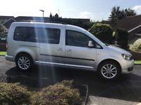 Volkswagen,WHEELCHAIR CADDY MAXI LIFE, MPV, 2013, Manual, 1598 (cc), 5 doors