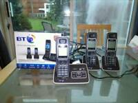 BT 6500 trio of phones