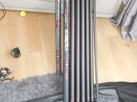 Map Tks 13m fishing pole series 1 carp competition