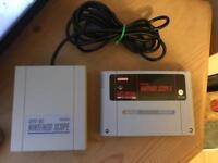 Nintendo SNES game. Super Nintendo. Retro