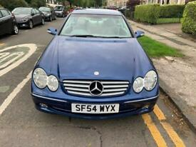 Mercedes-Benz Clk 200 blue coupe