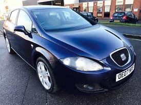 Seat Leon Stylance 2.0 Diesel, 2007, Manual, 1 Year MOT,JUST FULLY SERVICED, Excellent Runner.