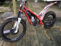 2014 Gas gas 300 txt-r trials bike