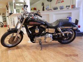 Harley Davidson FXDL Low Rider - 2008 / Black