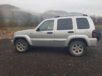 JEEP CHEROKEE CRD LIMITED EDITION IMACULATE 4X4