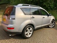 MITSUBISHI OUTLANDER 2.0 DiD WARRIOR**4x4**7 SEATER**FULL LEATHERS**XENONS.. citroen c crosser