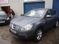Nissan QASHQAI Acenta dci,5 door,6 speed,FSH,full MOT,nice clean Jeep,runs and drives well,