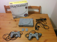 Boxed first edition Playstation 1 (SCPH-1002)