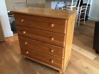 Charming chest of drawers £30