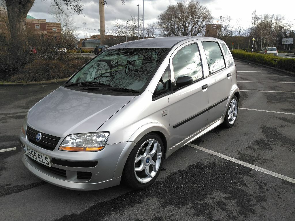 fiat idea 2005 1 3 multijet diesel inc private plate worth 350 supermini 85700 miles long mot. Black Bedroom Furniture Sets. Home Design Ideas