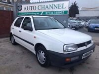 Volkswagen Golf 1.8 CL 5dr£1,500 p/x welcome 37000 MILES FROM NEW!WARRANTED