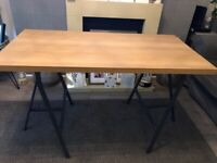 Ikea desk and swivel chair