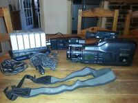 Panasonic NV-MS90 S-VHS Camcorder + Extras (5#)