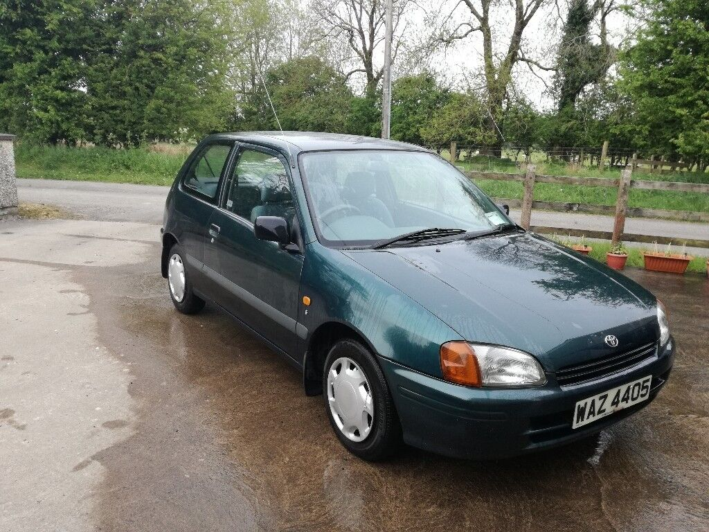 *SOLD* 1998 Toyota Starlet 1.3 Petrol For Sale