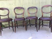 BARGAIN!!! Mahogany chairs