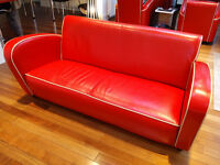 Sensational 'Jean Renoir' Art Deco 3 Piece Suite - Comprising 3 seater sofa and 2 arm chairs