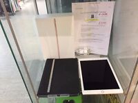 IPAD PRO 32GB AND CASE ON 02 WIFI AND 4G BOXED GARANTEE TILL APRIL 2017