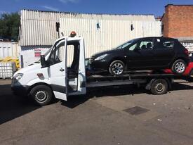 Mercedes Benz 311 recovery truck automatic