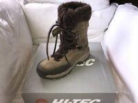 Hi Tec St Morris 200 WPI Snow Boots Size 6
