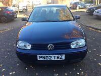 2002/02 VW GOLD GTTDI 130 86K 5 DOOR BARGAIN £1395 1 year mot