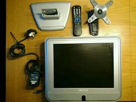 Lcd TV. Free view 14inch with wall mount