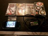 Psp slim 7 games charger