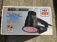 Black and Decker Orbital Sander. (Estate Sale)