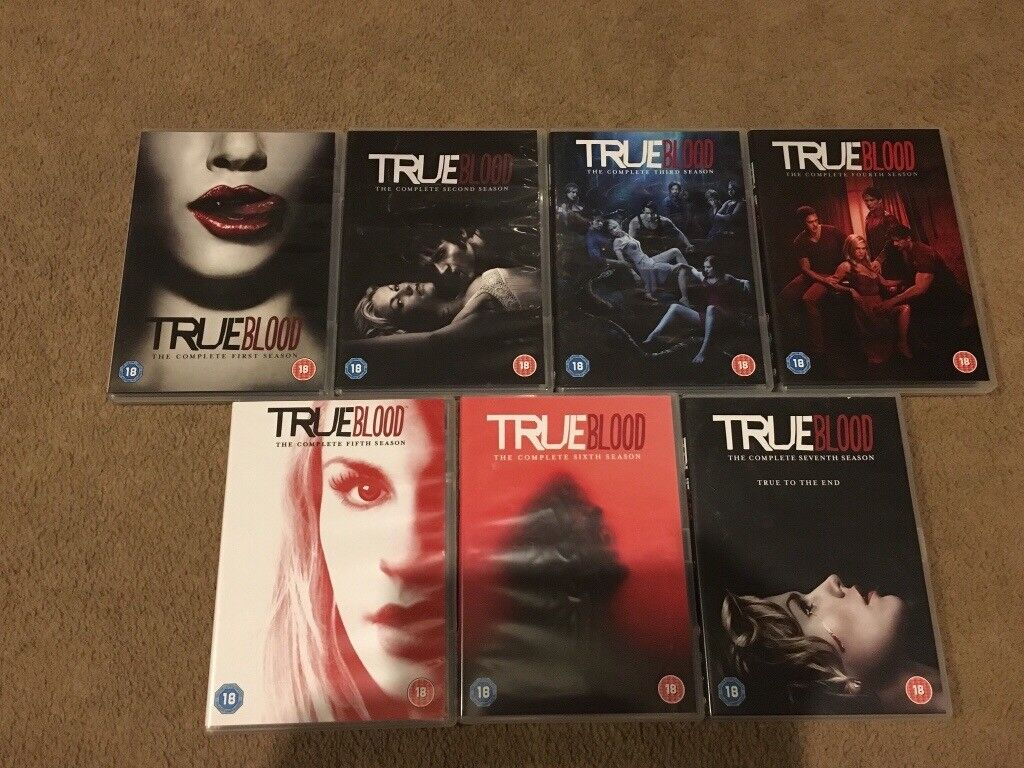 Stupendous True Blood Complete Seasons 1 7 Dvds In Hayling Island Hampshire Gumtree Theyellowbook Wood Chair Design Ideas Theyellowbookinfo