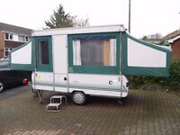 FOLDING CAMPERS BOUGHT (I WILL COME TO YOU) CONWAY, PENNINE, TRIGANO trailer tent camper