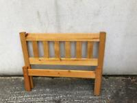 Single (3 ft) pine bed (2)
