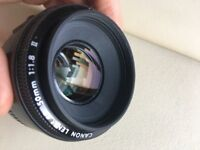 Canon 50mm 1:1.8 'Nifty Fifty' - Limited use