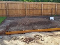 Free Back Garden Soil to anyone who can come and collect.
