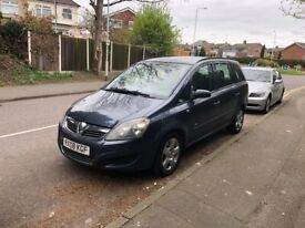 image for QUICKSALE WANTED VAUXHALL ZAFIRA 7 SEATER 2008 PLATE ULEZ FREE